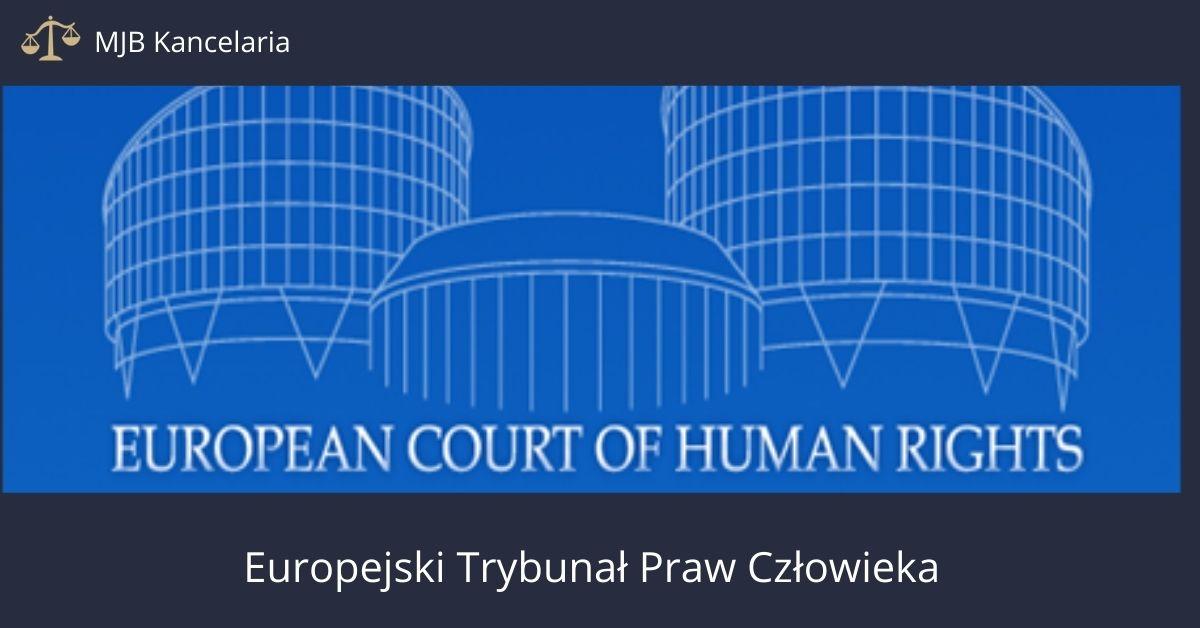 Trybunał praw człowieka